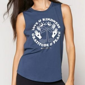 Spiritual Gangster love and kindness muscle tank